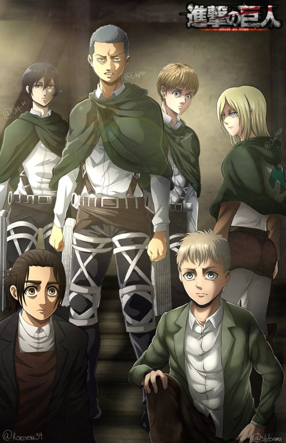 Solid On Twitter Attack On Titan Anime Attack On Titan Art Attack On Titan Season