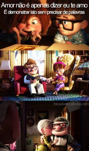 Fotos De Amor Com Frases Filme Up 2 O M Pinterest Disney
