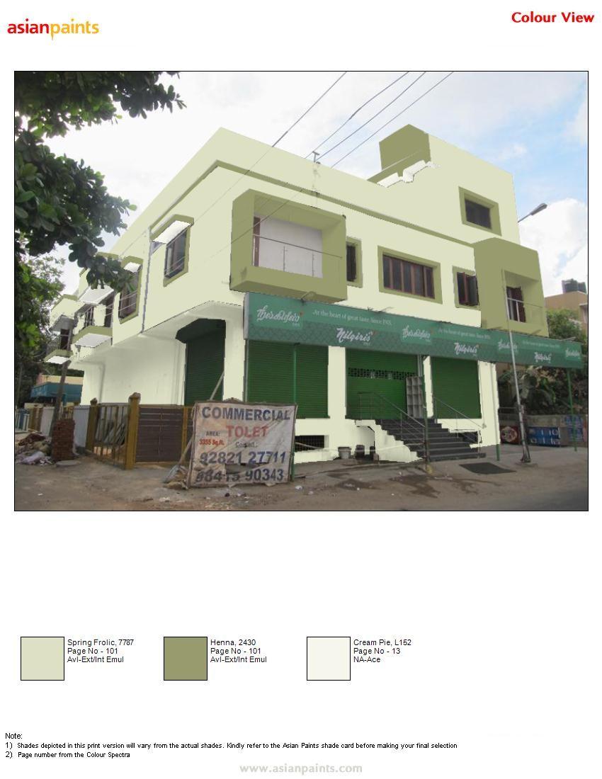1st Color Combination Asian Paints Colour Shades Asian Paints Colours Color Combinations Home