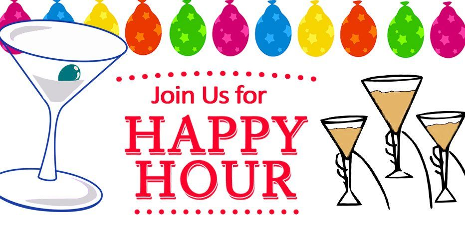 Join us this week for Happy Hour! | Happy hour, Happy, Grape vines