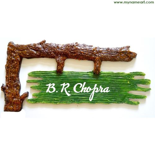 Personalinze Stylish Wooden Nameplate Pictures For Profile Image On Whatsapp And Facebook Home Name Plate Name Plate Design Door Name Plates Wooden Name Plates