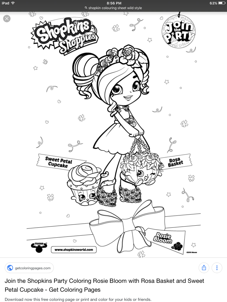 Pin By Tia On Colouring Shopkins Shoppies Cartoon Coloring Pages Disney Princess Coloring Pages Shopkins Coloring Pages Free Printable