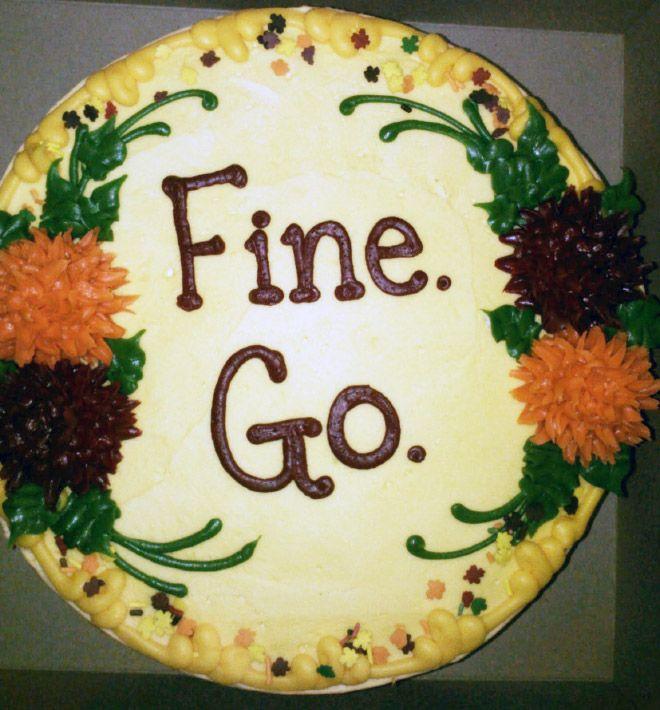 Hilarious Farewell Cakes Goodbye Cake Farewell Cake Cake Quotes