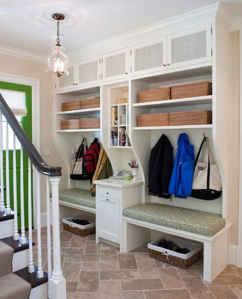 How To Easily Organize Your Front Entry Home Mud Room Casas Novas