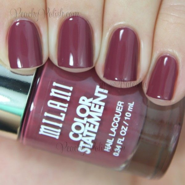 Milani Mauving Forward: Color Statement Nail Lacquer Collection ...