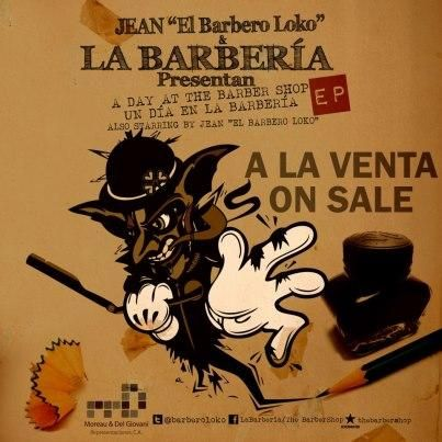 A la venta EP de LA BARBERÍA!