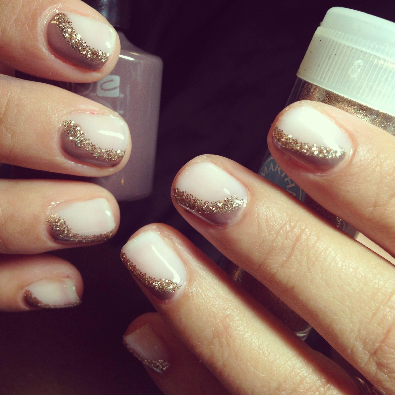 CND Shellac | Nail Art | Glitter | Nail designs & colours ...