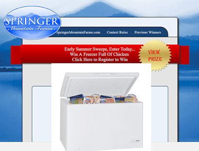betterchicken com Contest - Win a Freezer Full Of     | Sweepstakes