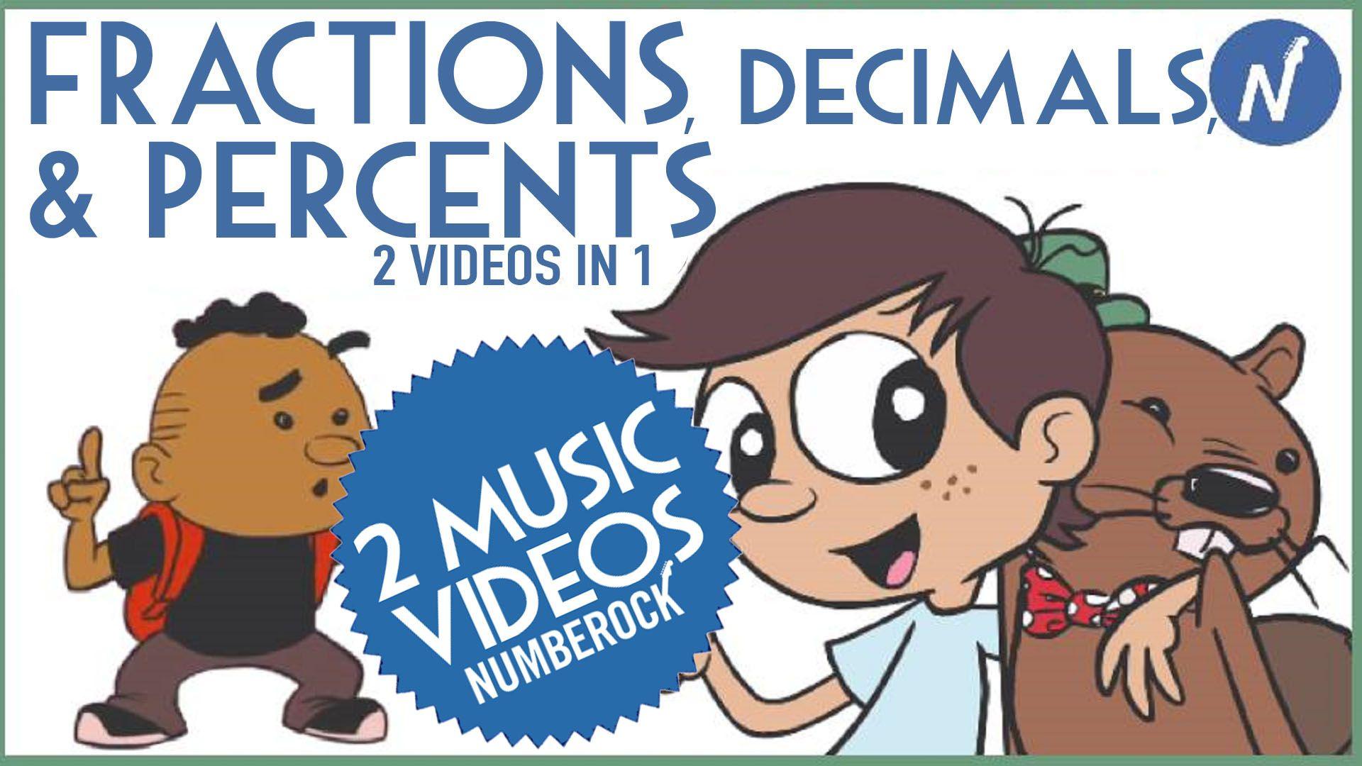 Conversions: Fractions to Decimals and Percents | 6th Grade Math ...