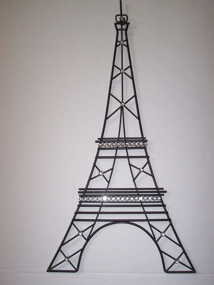 Base For Wire Wrap Eiffel Tower