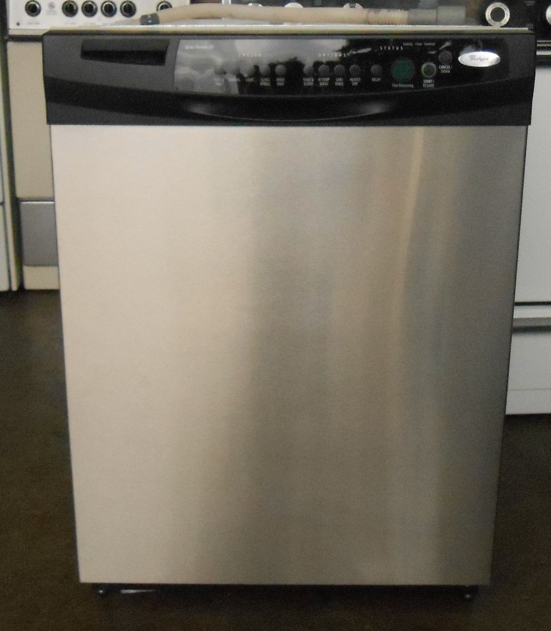 Appliance City Whirlpool Gold Full Console Dishwasher