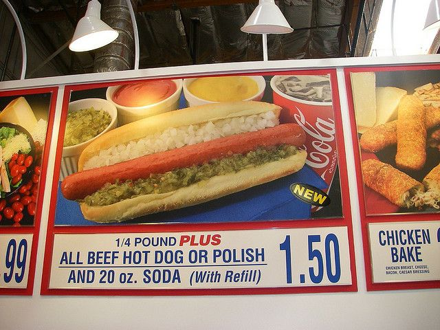 Costco 1 50 Hot Dog And Drink Hot Dogs Costco Meals Food