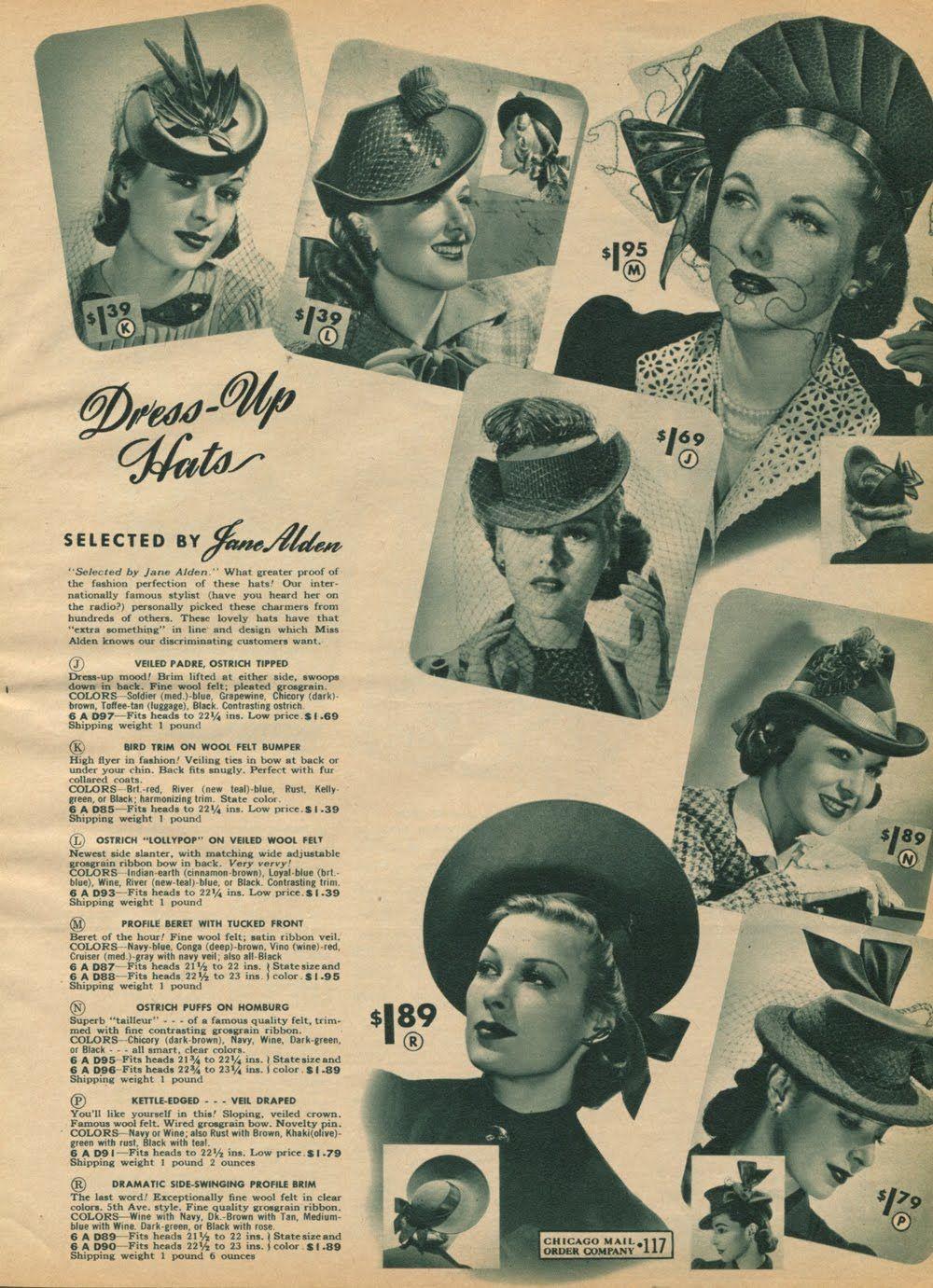41ff289d6d0 Hats - 1940-41 catalogue