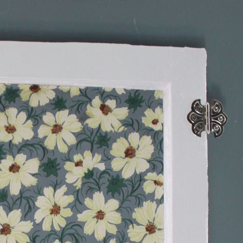 Made With Love Wallpapered Cabinet Doors For A Rainy Day
