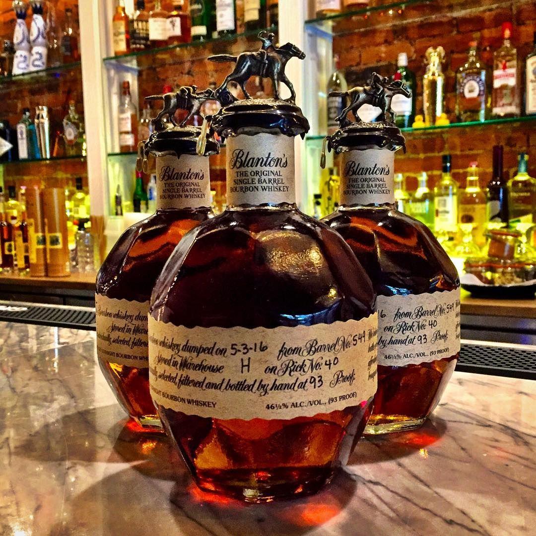 Do you like your Bourbon neat or on the rocks? . Blanton's Original Single Barrel Bourbon . sweet w/ citrus & oak. A creamy vanilla nose features hints of nuts, caramel, orange & light chocolate . #blantonsbourbon #blanton #blantons #blantonssinglebarrel #kentuckybourbon #spirits #liquor #wine #bourbon #whiskey #bar #nycbar #nycdrink #nycbars