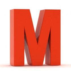 Brought to you by the letter M