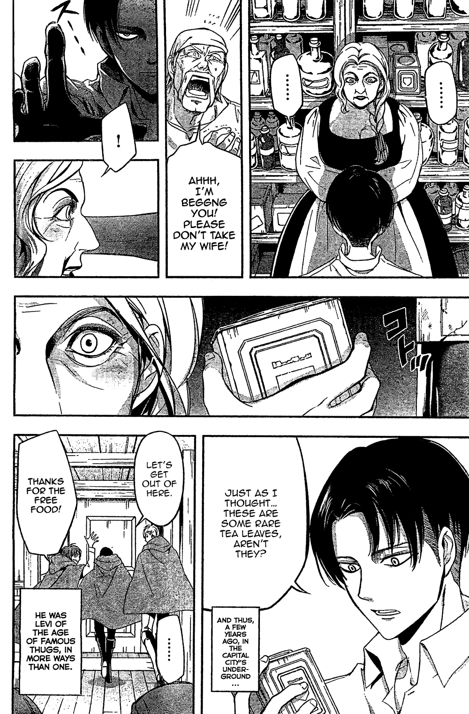 Read manga Shingeki no Kyojin Gaiden Kuinaki Sentaku Vol
