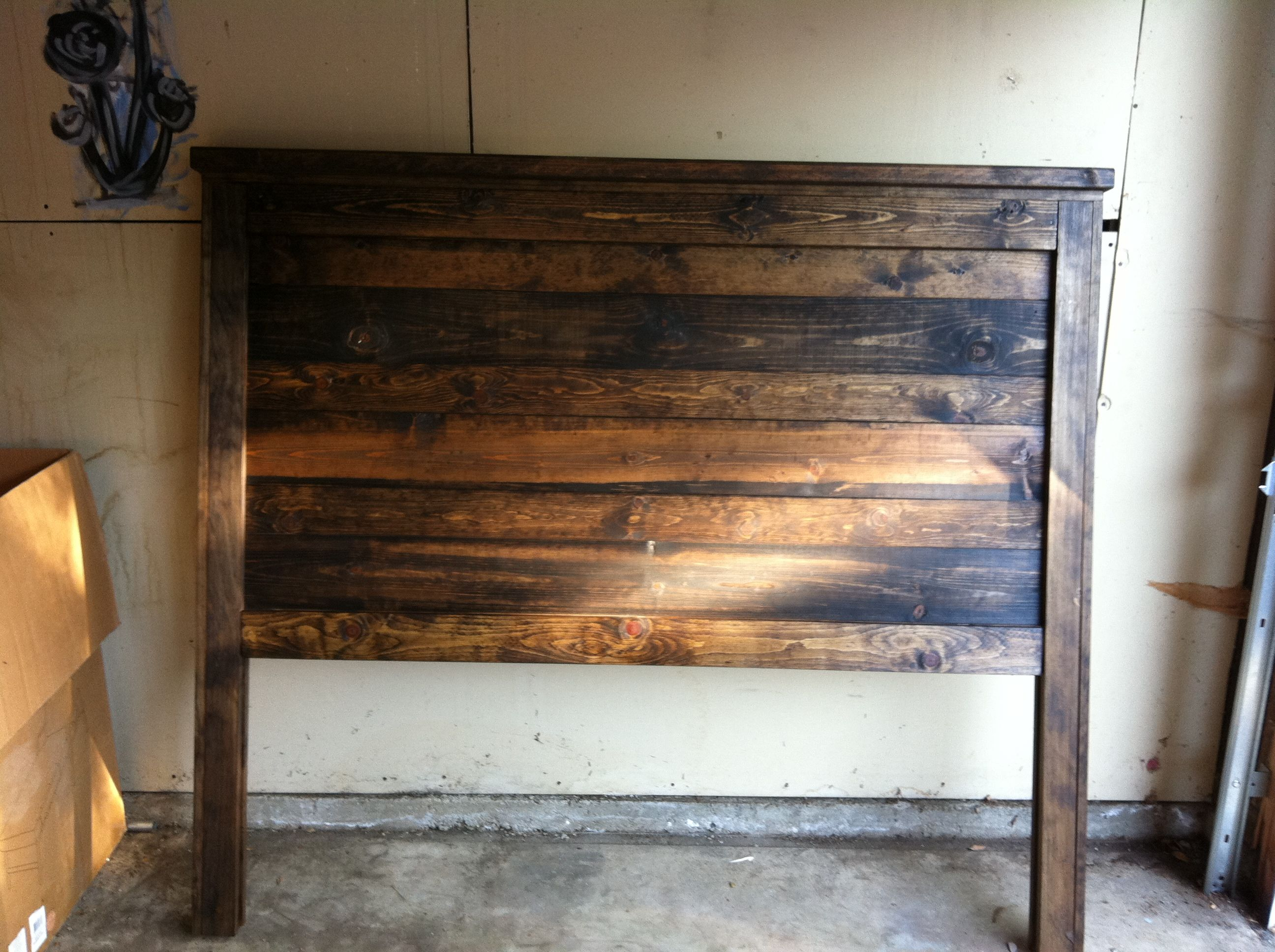 Wooden Bed Headboards Designs reclaimed wood bed headboard - google search | furniture