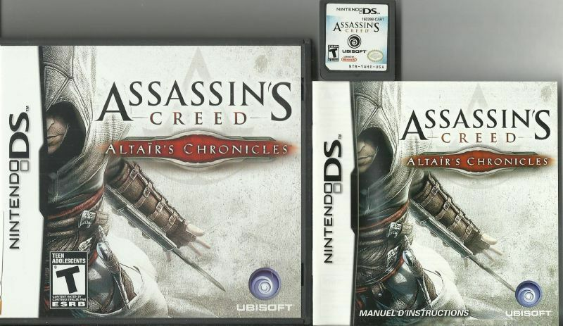 Assassin S Creed Altair S Chronicles Ds Used Game Case