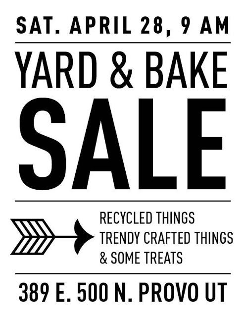 Yard Amp Bake Sale Sign With Images For Sale Sign Bake Sale