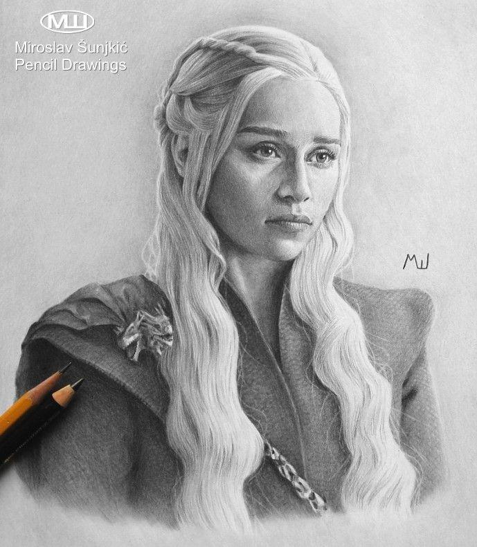 Canvas Art Game Of Thrones Dragon Mother Daenerys Targaryen Movie