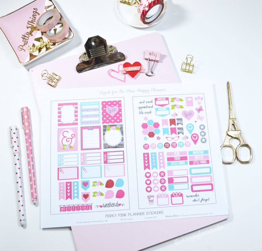Pin On Planner Printables