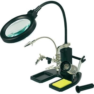 Toolcraft Helping Hand Led Magnifier Lamp By Toolcraft Http Www Amazon Co Uk Dp B0051ym7x8 Ref Cm Sw R Pi Dp Opiqsb1qn5aw9 277 Magnifier Lamp Lamp Toolcraft