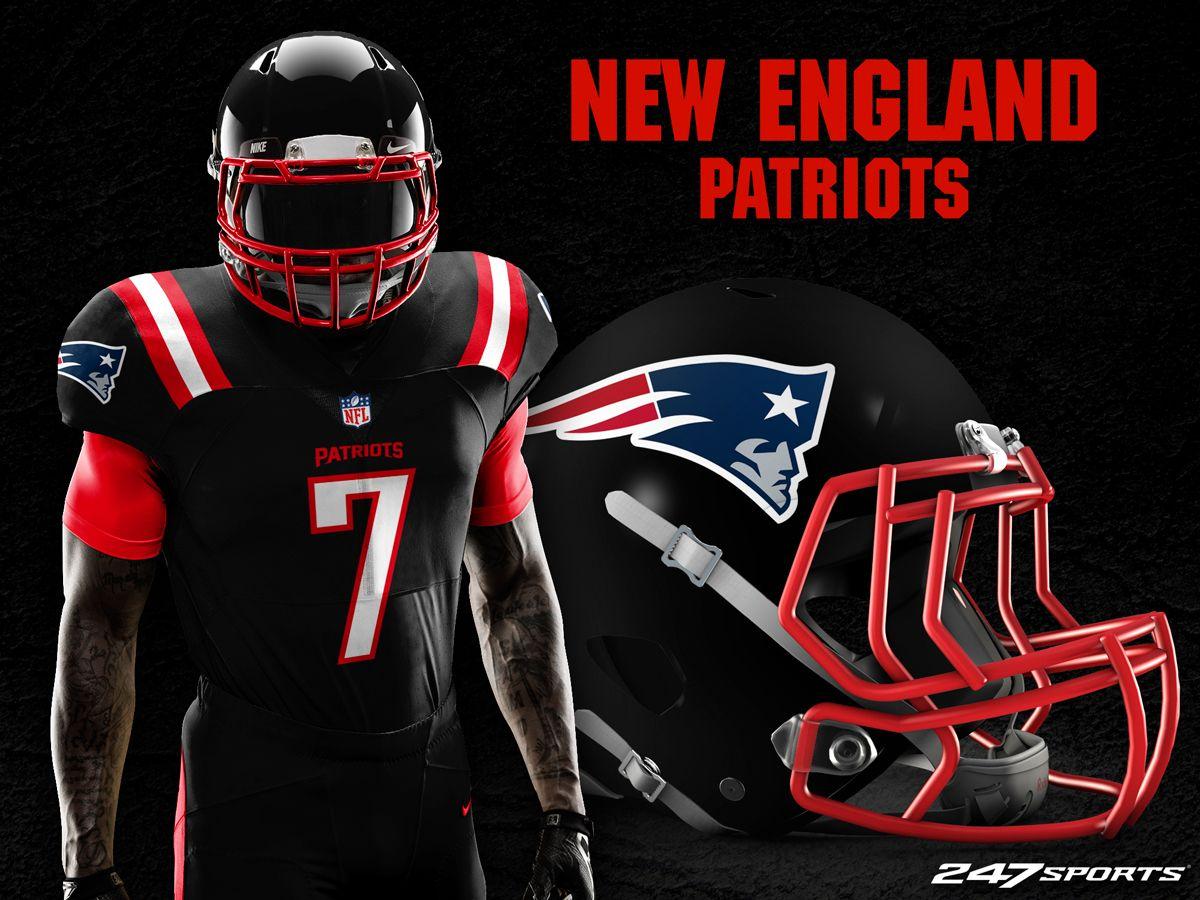 "NFL ""blackout"" uniform concepts 32 nfl teams, Nfl, Nfl"