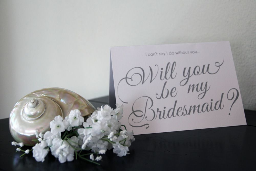 FREE Bridesmaid Cards DestinationWE