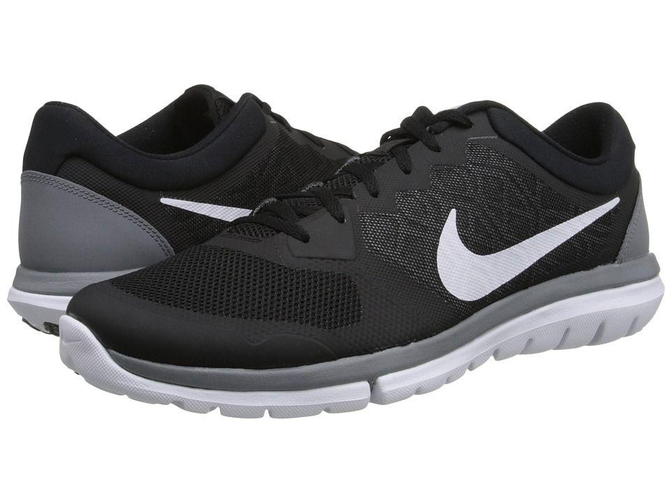 pas cher explorer Livraison gratuite authentique Nike Flex Courir 2015 Hommes Chaussures De Course Blanc Et Noir 3n9jn7eD