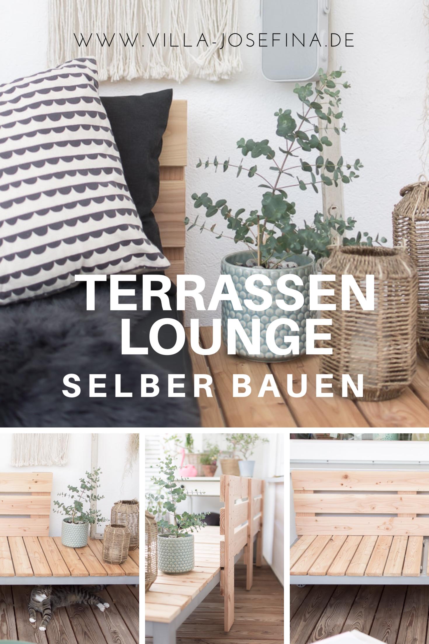 Terrassen lounge selber bauen wohnen pinterest for Terrassen lounge