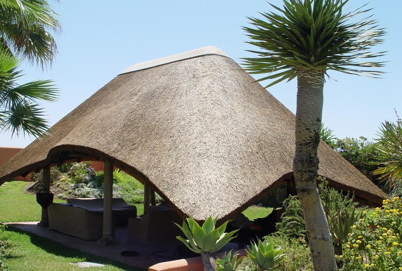 10 Thatched Gazebo Ideas For Your Backyard Cape Reed International Gazebo Thatched House Backyard Backyard modern lapa designs