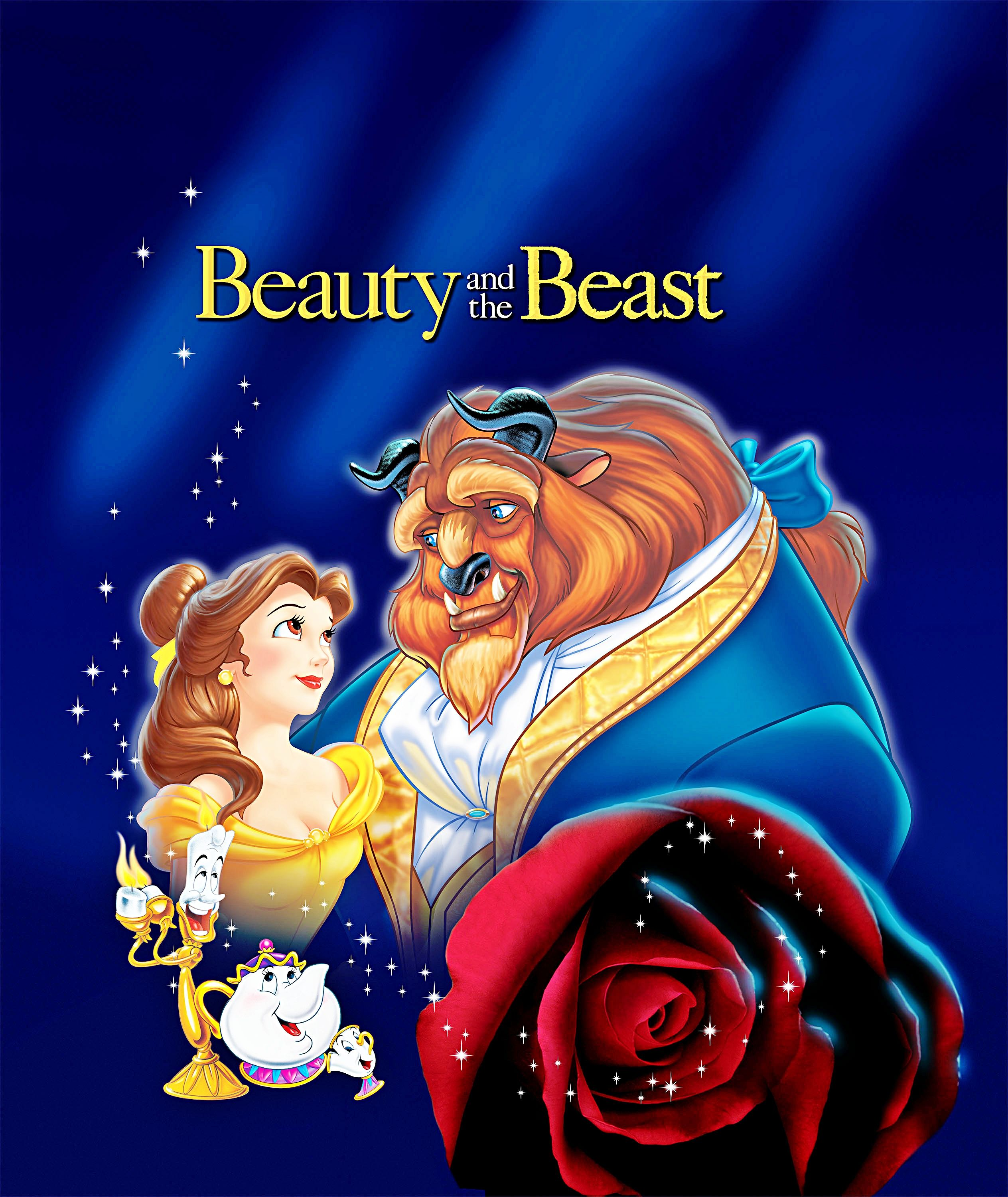 disney characters beauty and the beast for the kid in