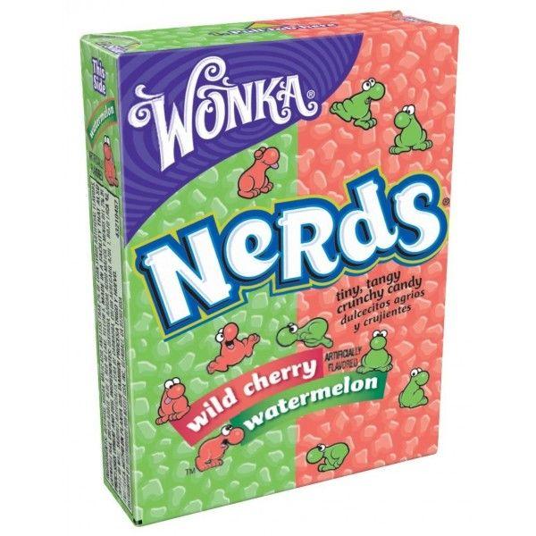Nerds Cerise Pasteque Wonka Bonbon Pasteque Bonbons Acidules