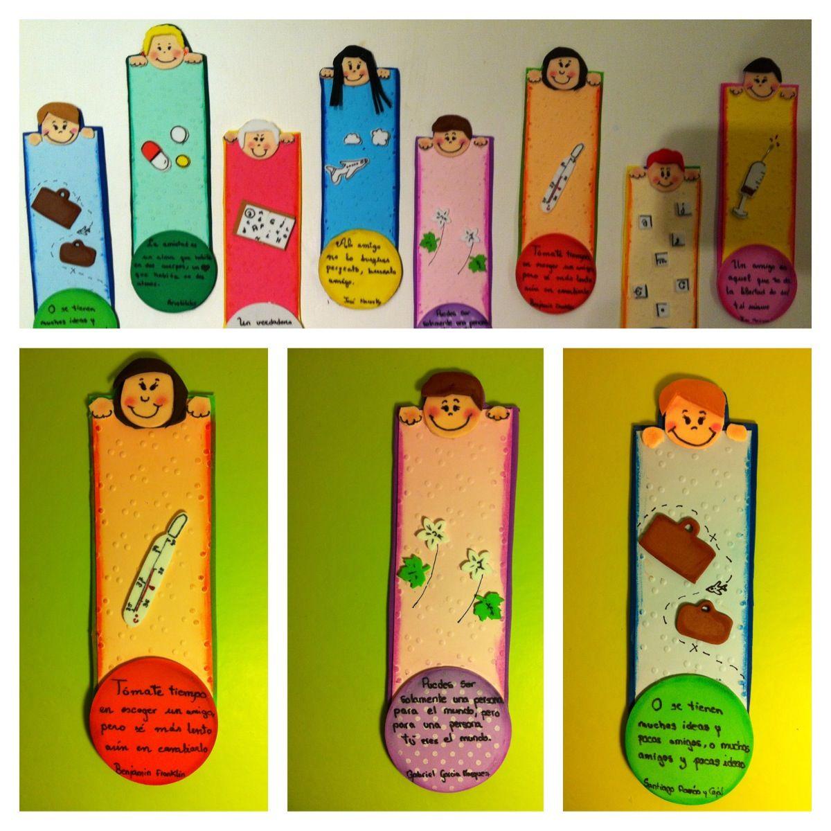 Marcapáginas personalizados de gomaeva