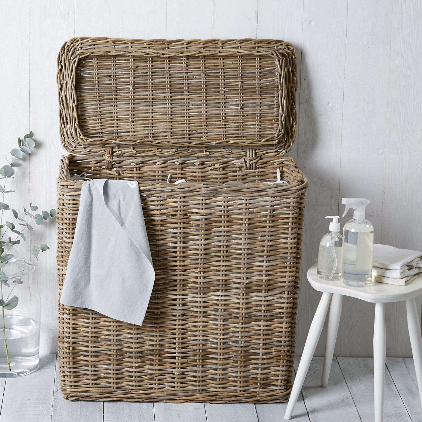 Double Laundry Basket  from The White Company