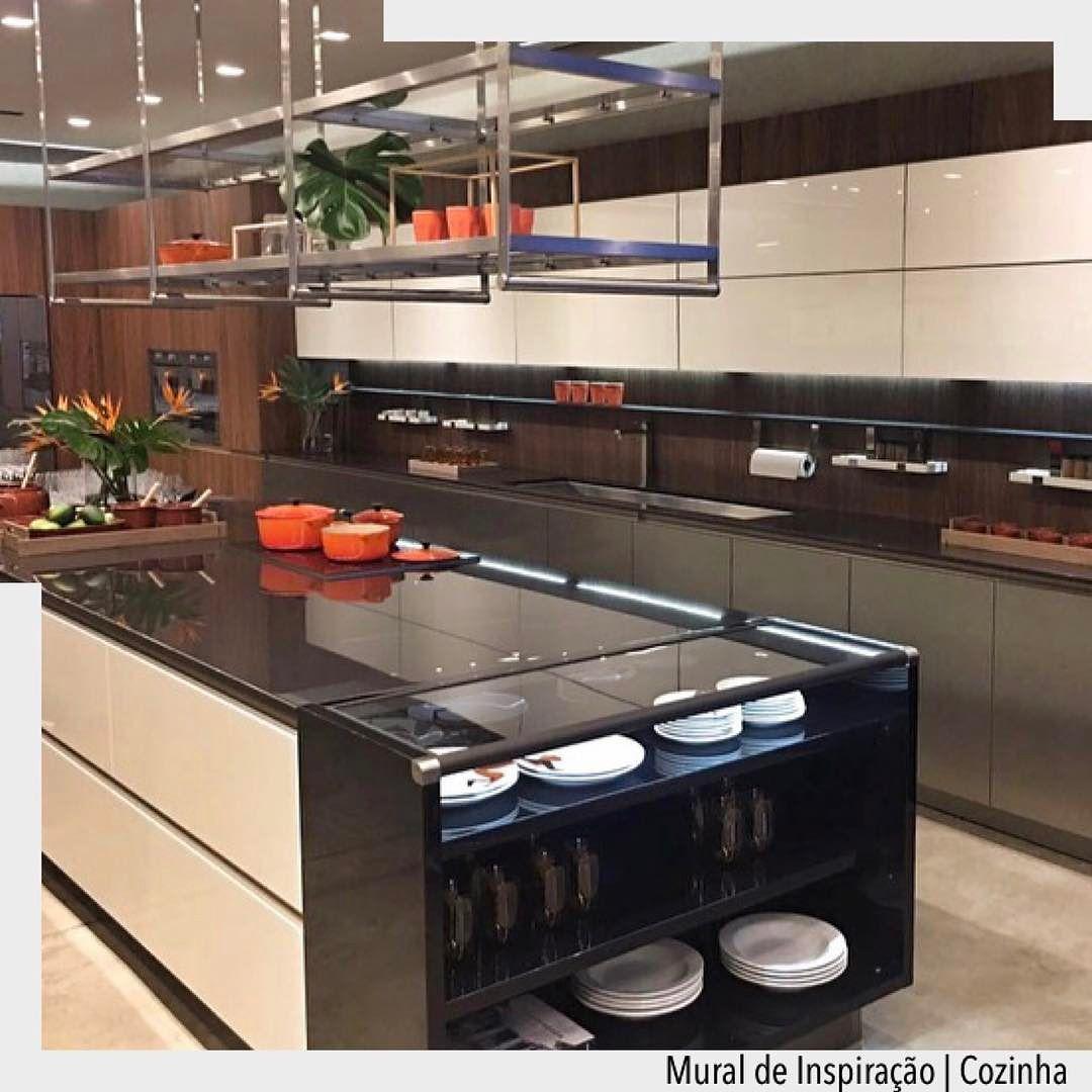 Totalmente Funcional Pratica E Moderna A Cozinha Com Ilha Agrada