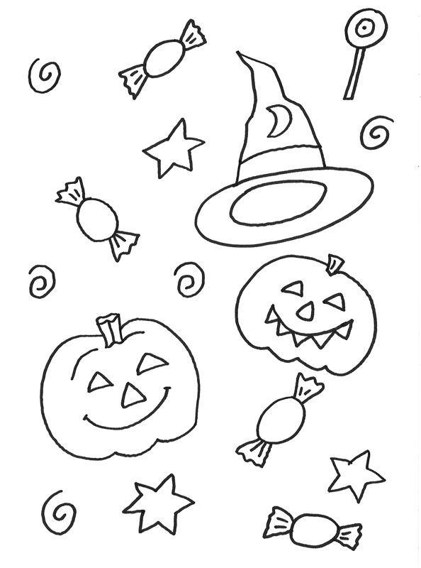 halloween ausmalbilder kostenlos drucken 05  ausmalbilder  Pinterest