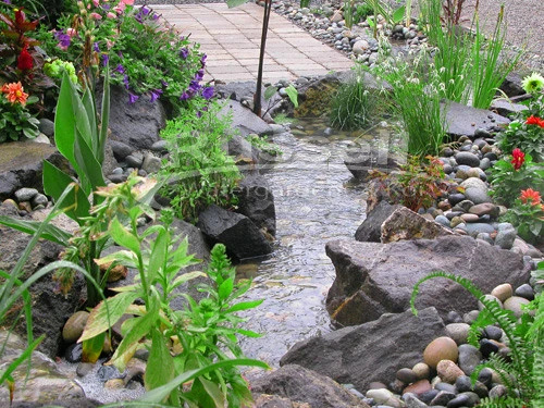 How to Build a Pondless Waterfall with a Stream - An ...