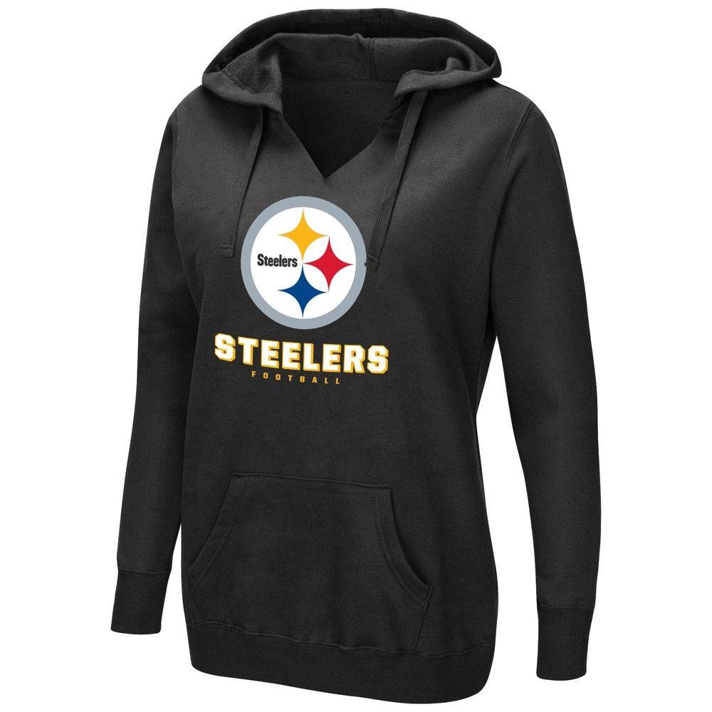 online retailer 80955 7c116 Pittsburgh Steelers Women's Shape It Up Plus Size Hoodie 3X ...