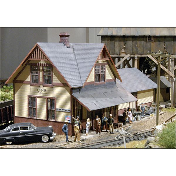 Ophir Depot Model Kit, O Scale | Structure Kits | Landscape model