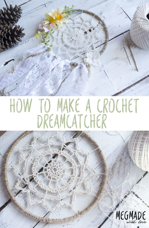 Crochet Dreamy Dreamcatcher Pattern | Red Heart Patterns from ...