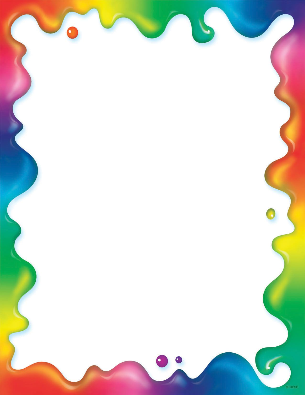 free printable rainbow stationery printables stationary