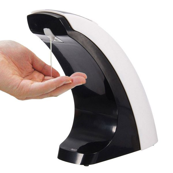 Lcd Display Automatic Hand Sanitizer Machine Infrared Sensor Soap