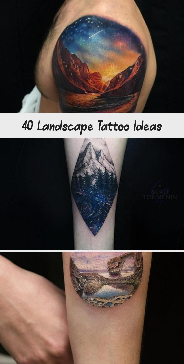 Photo of Idées de tatouage de paysage #ArtTattooArtists #ArtTattooMen #ArtTattooGirl #SkinArtTa …