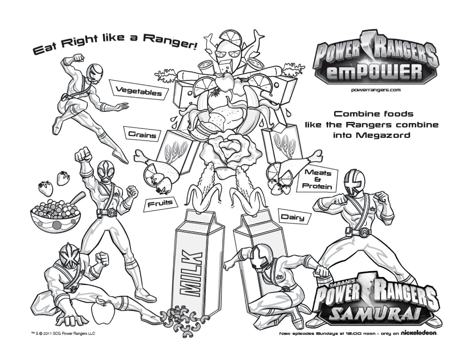 power rangers coloring pages - Free Large Images | mostafa ...