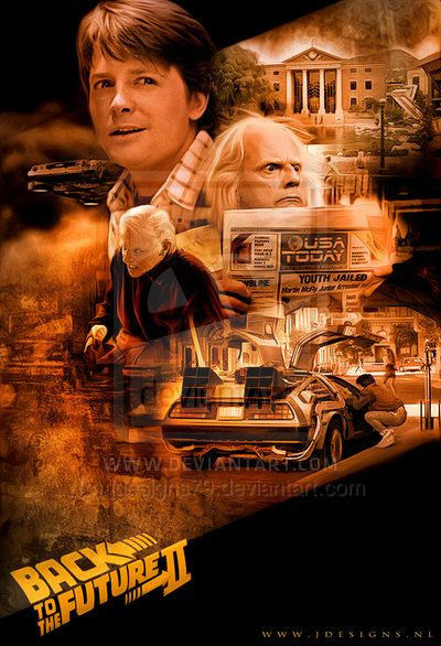Back To The Future Ii By Jdesigns79 On Deviantart Carteles De