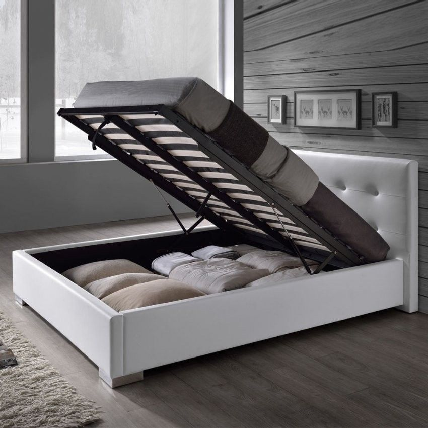 Kunstlederbett Bettkasten Lattenrost Doppelbett 140 160 180x200 In 2020 Bett Mit Lattenrost Beste Matratze Bettkasten