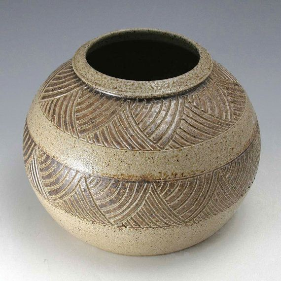 Pottery Folk Art // Ben Owen - 1987 Vase // North Carolina Handmade