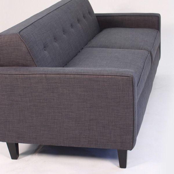 Strange Soho Mid Century Modern Apt Size Sofa Grey Apt2B Home Short Links Chair Design For Home Short Linksinfo